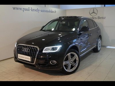 audi q5 occasion 2 0 tdi 190ch clean diesel avus quattro s tronic 7 fueltype 2015 par kroely. Black Bedroom Furniture Sets. Home Design Ideas