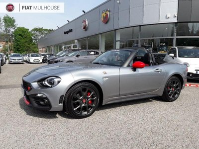 voiture occasion abarth 124 spider dijon fiat dijon. Black Bedroom Furniture Sets. Home Design Ideas