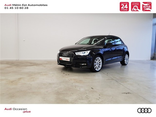 occasion audi a1 sportback saint maur des foss s 94 10901 km en vente 23 990 annonce n. Black Bedroom Furniture Sets. Home Design Ideas