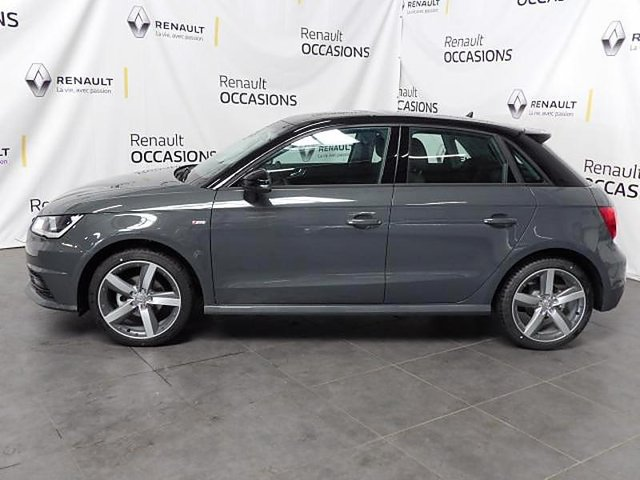 audi a1 sportback 1 4 tdi 90ch ultra s line occasion chambery 22 490. Black Bedroom Furniture Sets. Home Design Ideas