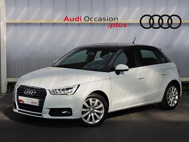 audi a1 sportback 1 0 tfsi 95ch ultra occasion reims 18 490. Black Bedroom Furniture Sets. Home Design Ideas