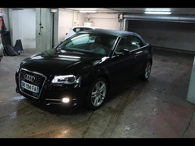 AUDI A3 CABRIOLET d'occasion1 6 TDI 105ch DPF Start/Stop Ambition