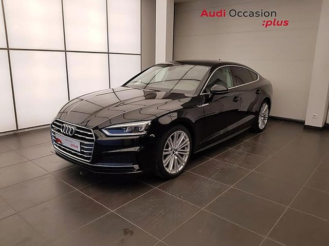 audi a5 sportback 2018 en vente rivery 80 en stock. Black Bedroom Furniture Sets. Home Design Ideas
