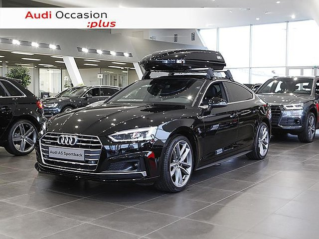 audi a5 sportback 2018 en vente cesson sevigne 35 en stock. Black Bedroom Furniture Sets. Home Design Ideas