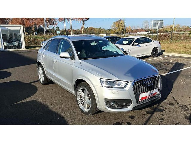 audi q3 2 0 tdi 140ch ambition luxe quattro s tronic 7 occasion bayonne 23 990. Black Bedroom Furniture Sets. Home Design Ideas