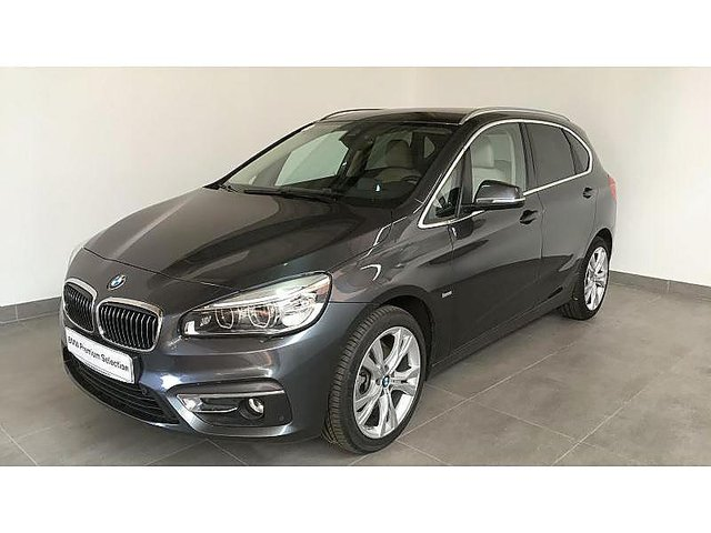 bmw serie 2 active tourer 218da 150ch luxury occasion poitiers 25 590. Black Bedroom Furniture Sets. Home Design Ideas