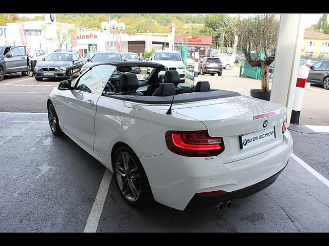 bmw serie 2 cabriolet 220da 190ch m sport occasion aix en provence 27 900. Black Bedroom Furniture Sets. Home Design Ideas