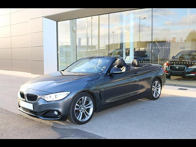 bmw serie 4 cabriolet 420da 184ch sport occasion paris 30 590. Black Bedroom Furniture Sets. Home Design Ideas