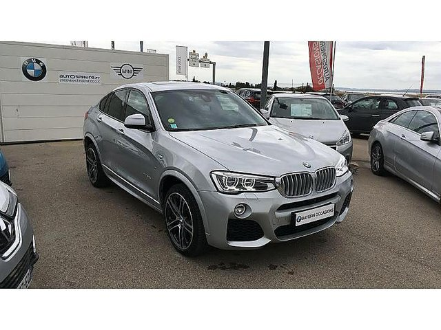 bmw x4 xdrive30da 258ch m sport occasion aix en provence 61 500. Black Bedroom Furniture Sets. Home Design Ideas