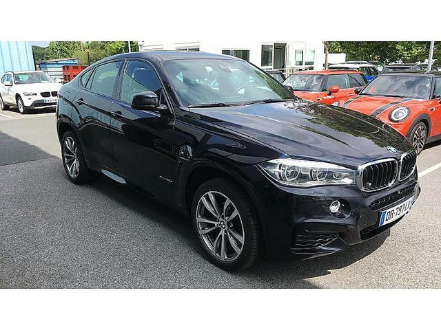 bmw x6 xdrive 30da 258ch m sport occasion bayonne 46 990. Black Bedroom Furniture Sets. Home Design Ideas
