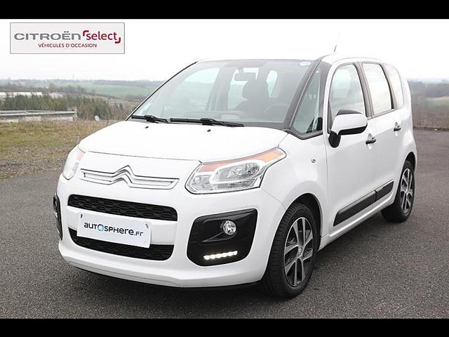 citroen c3 picasso bluehdi 100 confort occasion niort 10 990. Black Bedroom Furniture Sets. Home Design Ideas