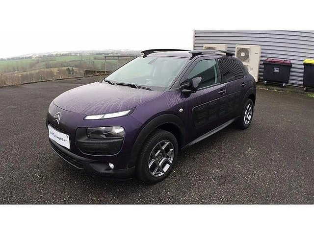 citroen c4 cactus bluehdi 100 shine occasion niort 14 690. Black Bedroom Furniture Sets. Home Design Ideas