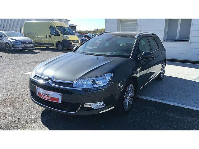 citroen c5 tourer 2 0 bluehdi 180ch hydractive exclusive s s eat6 occasion civray 19 990. Black Bedroom Furniture Sets. Home Design Ideas