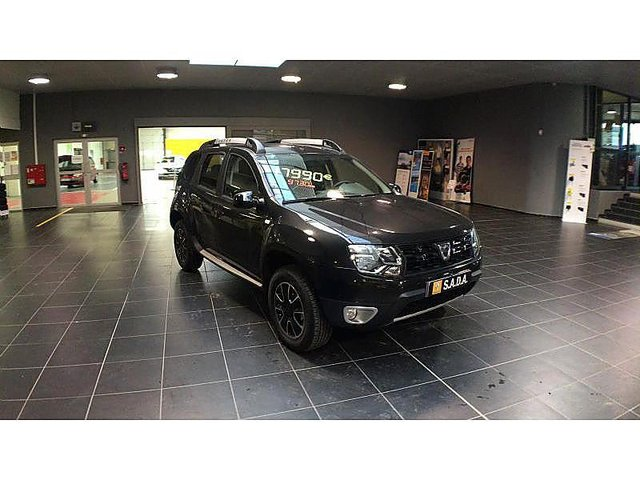 dacia duster 1 5 dci 110ch black touch 2017 4x2 edc occasion dunkerque 18 480. Black Bedroom Furniture Sets. Home Design Ideas