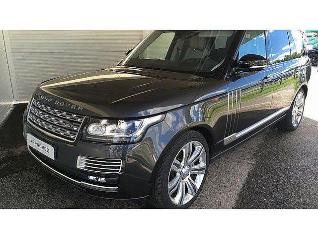 2017 Land Rover Range Rover 5.0 L V8 Supercharged Autobiography >> LAND-ROVER Range Rover 5.0 V8 Supercharged 550ch SV ...