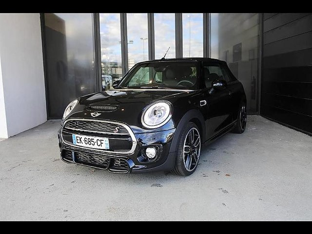 mini cabrio cooper s 192ch john cooper works bva occasion bordeaux 33 990. Black Bedroom Furniture Sets. Home Design Ideas
