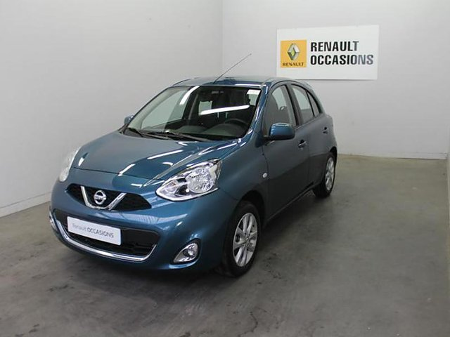 nissan micra 1 2 80ch n tec euro6 occasion meaux 9 980. Black Bedroom Furniture Sets. Home Design Ideas