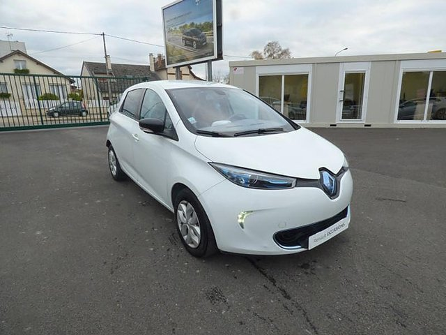 renault zoe life charge rapide occasion epernay 6 490. Black Bedroom Furniture Sets. Home Design Ideas