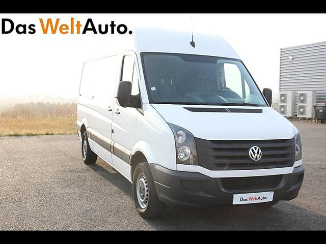 volkswagen crafter 35 l2h2 2 0 tdi 109ch occasion angouleme 12 990. Black Bedroom Furniture Sets. Home Design Ideas