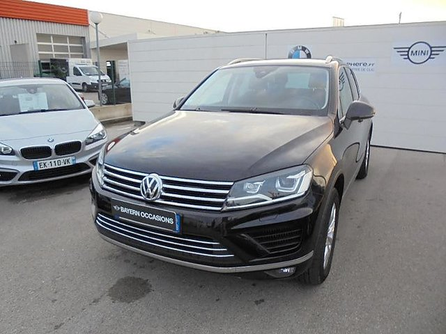 volkswagen touareg 3 0 v6 tdi 262ch bluemotion technology carat 4motion tiptronic occasion aix. Black Bedroom Furniture Sets. Home Design Ideas