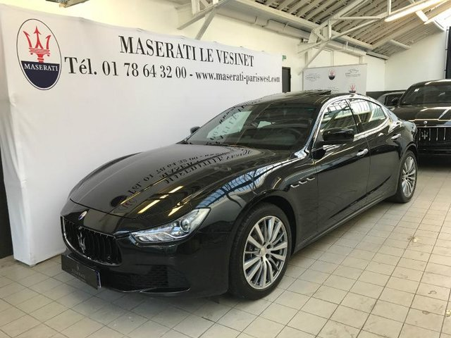 occasion maserati ghibli le v sinet 78 21500 km en vente 57 490 annonce n 00097. Black Bedroom Furniture Sets. Home Design Ideas