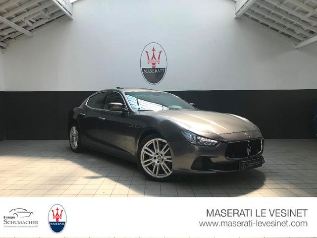 occasion maserati ghibli le v sinet 78 22500 km en vente 59 900 annonce n 00088. Black Bedroom Furniture Sets. Home Design Ideas