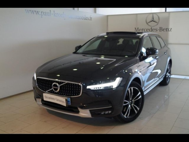 volvo v90 cross country occasion d4 awd 190ch luxe geartronic fueltype 2017 par kroely 22506. Black Bedroom Furniture Sets. Home Design Ideas