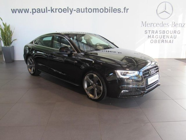 audi a5 sportback occasion 2 0 tdi 190ch s line quattro s tronic 7 fueltype 2017 par kroely. Black Bedroom Furniture Sets. Home Design Ideas