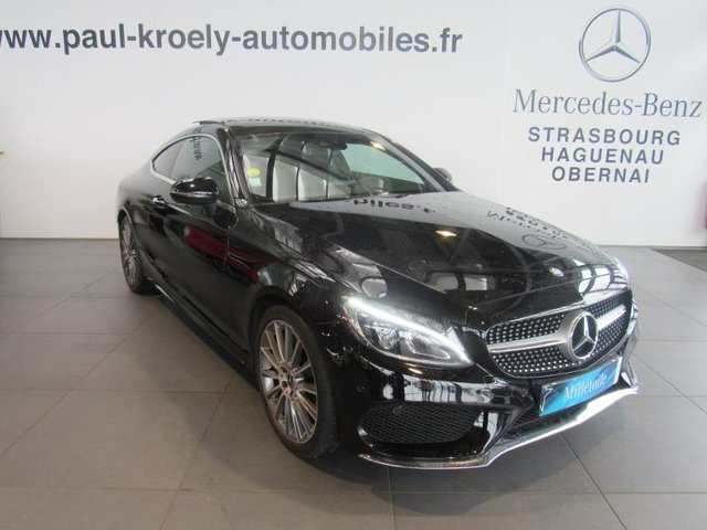 mercedes benz classe c coupe occasion 220 d 170ch sportline 9g tronic fueltype 2017 par kroely. Black Bedroom Furniture Sets. Home Design Ideas