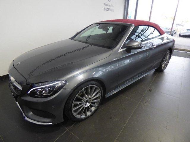 Mercedes Benz Classe C Cabriolet 2018 220 D 170ch Sportline 9g Tronic Occasion Par Http Www Smart Nancy Fr Occasion En Stock A Terville 57