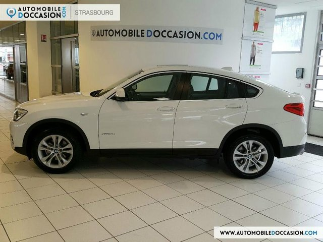 bmw x4 occasion xdrive30da 258ch lounge plus 1er main dijon hes8 803660. Black Bedroom Furniture Sets. Home Design Ideas