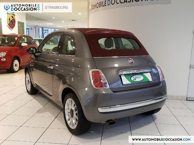 fiat 500c occasion 1 2 8v 69ch lounge charleville hes8 804368. Black Bedroom Furniture Sets. Home Design Ideas