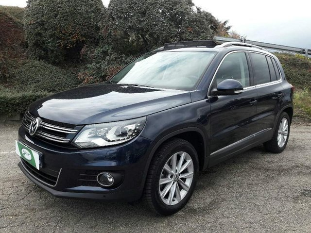 volkswagen tiguan occasion 2 0 tdi 110ch carat cuir nancy he13 413443. Black Bedroom Furniture Sets. Home Design Ideas