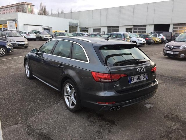 audi a4 avant occasion 2 0 tdi 190ch s line mulhouse re68m1 126634. Black Bedroom Furniture Sets. Home Design Ideas