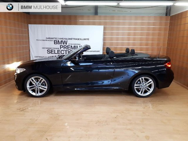 bmw serie 2 cabriolet occasion 220ia 184ch m sport reims bm68c2 vo5921. Black Bedroom Furniture Sets. Home Design Ideas