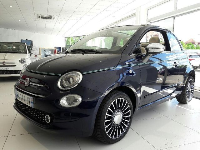 voiture fiat 500c occasion 1 3 multijet 16v 95ch riva hes2 19444 mulhouse