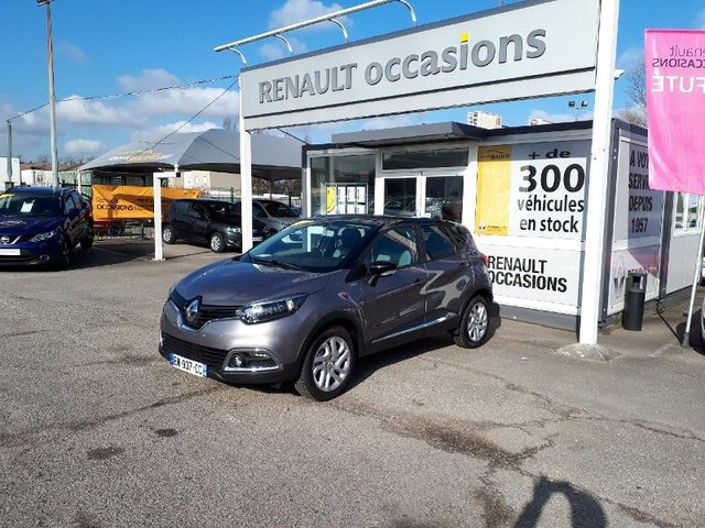 renault captur occasion 1 5 dci 90ch cool grey metz re68m1 126807. Black Bedroom Furniture Sets. Home Design Ideas