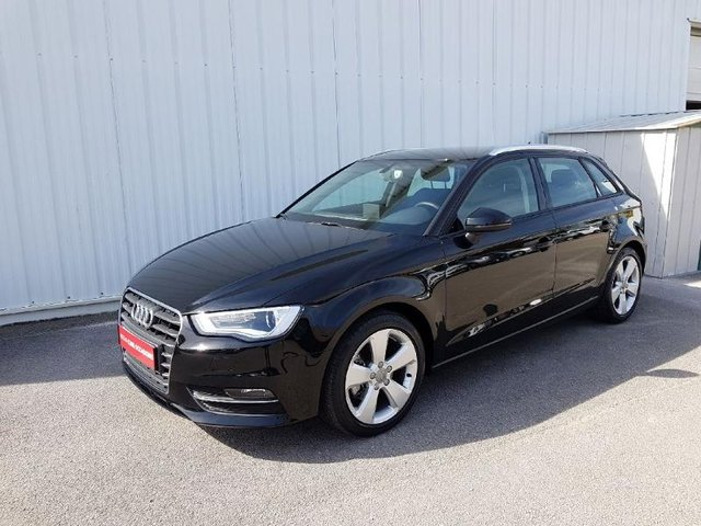audi a3 sportback occasion 1 6 tdi 110ch ambition luxe metz he17 17483. Black Bedroom Furniture Sets. Home Design Ideas