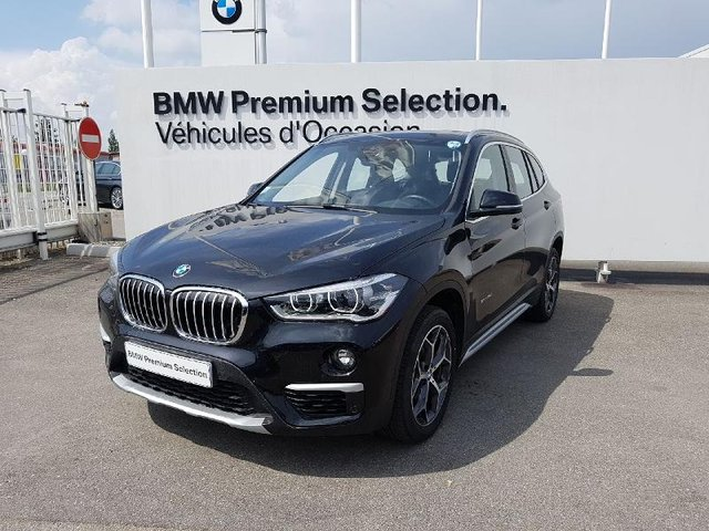 bmw x1 xdrive18d 150ch xline occasion bm68c2 vo6131. Black Bedroom Furniture Sets. Home Design Ideas