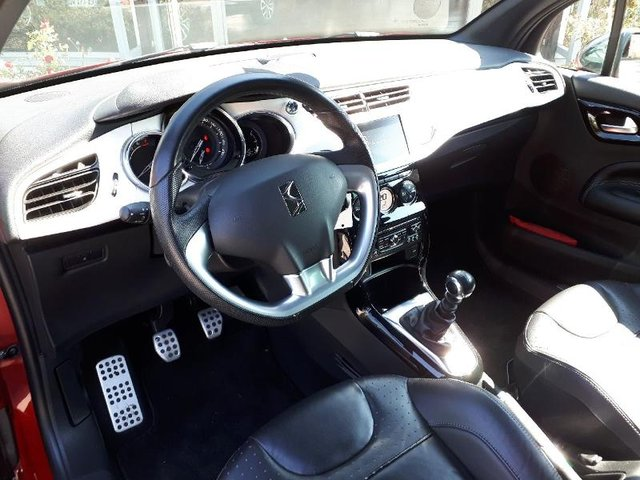citroen ds3 occasion 1 6 thp 155ch sport chic gps reims re68c2 180983. Black Bedroom Furniture Sets. Home Design Ideas