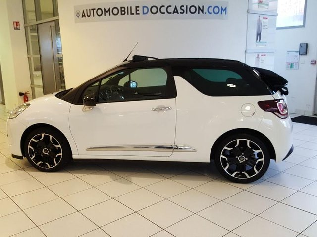 citroen ds3 cabrio occasion 1 6 thp 155 sport chic reims hes8 805571. Black Bedroom Furniture Sets. Home Design Ideas