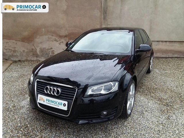 audi a3 sportback 1 6 tdi 105ch s line occasion pas cher primocar. Black Bedroom Furniture Sets. Home Design Ideas