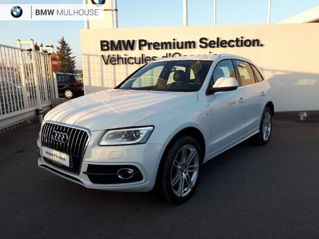 audi q5 occasion 3 0 v6 tdi 258ch clean diesel s line quattro s tronic 7 mulhouse bm68c2 6494. Black Bedroom Furniture Sets. Home Design Ideas