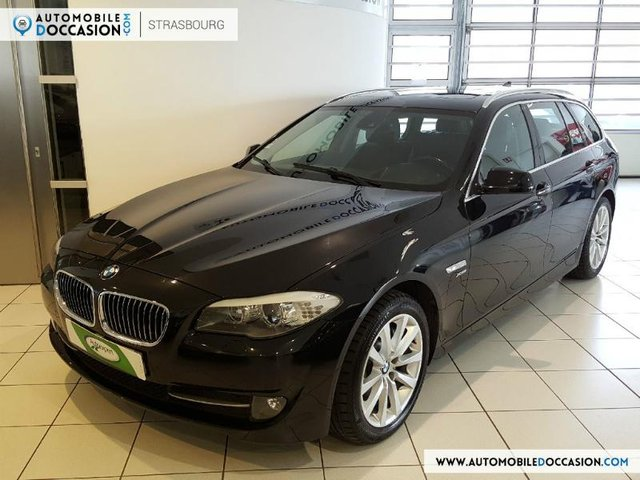 bmw serie 5 touring occasion 525da xdrive 218ch luxe tpano saint etienne hes8 803910. Black Bedroom Furniture Sets. Home Design Ideas
