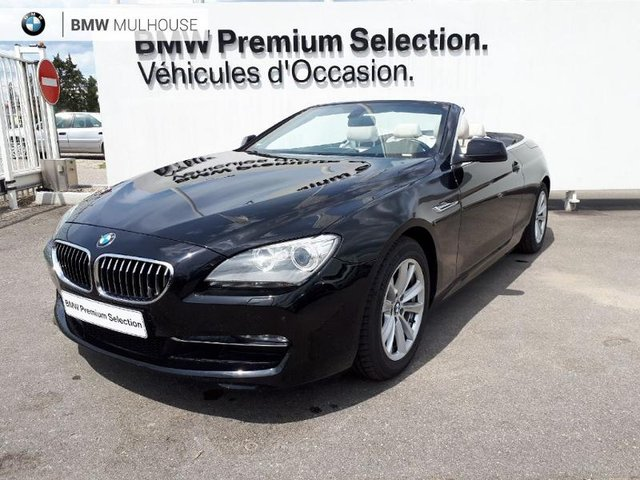 voiture occasion bmw serie 6 cabriolet mulhouse fiat mulhouse. Black Bedroom Furniture Sets. Home Design Ideas