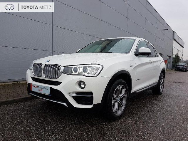 bmw x4 occasion xdrive20da 190ch xline dijon he11 60085. Black Bedroom Furniture Sets. Home Design Ideas