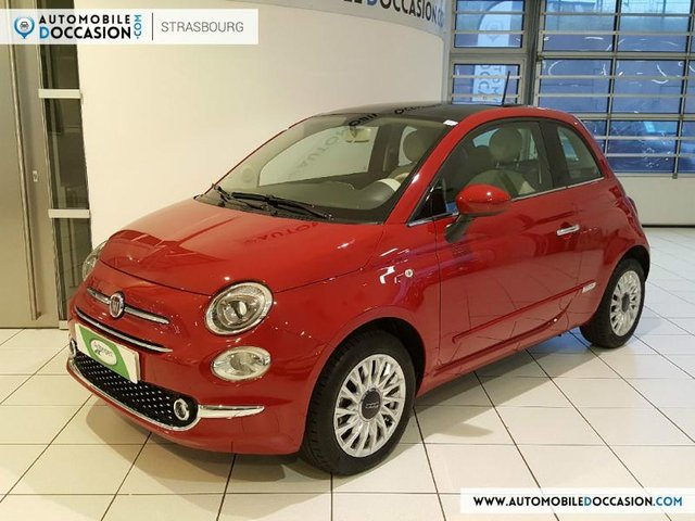 fiat 500 occasion 1 2 8v 69ch lounge charleville hes8. Black Bedroom Furniture Sets. Home Design Ideas