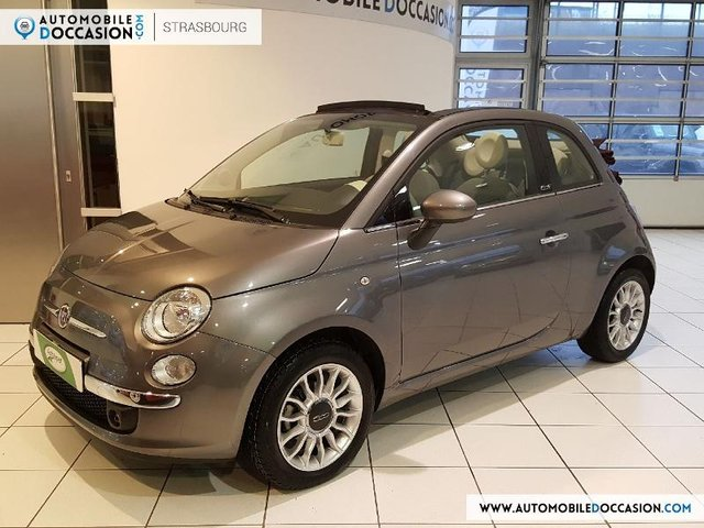 fiat 500c occasion 1 2 8v 69ch lounge s lestat hes8 804368. Black Bedroom Furniture Sets. Home Design Ideas