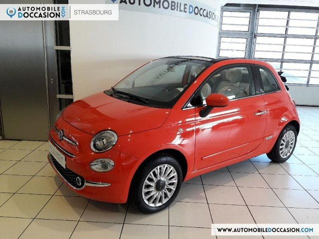 voiture occasion fiat 500c reims peugeot reims. Black Bedroom Furniture Sets. Home Design Ideas