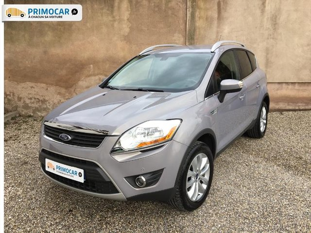 ford kuga 2 0 tdci 140ch titanium 4x2 occasion pas cher primocar. Black Bedroom Furniture Sets. Home Design Ideas